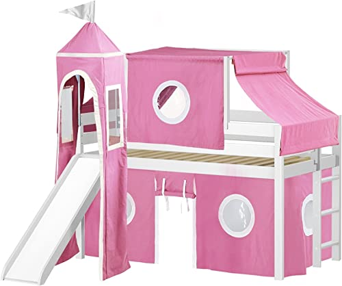 JACKPOT Princess Low Loft Bed