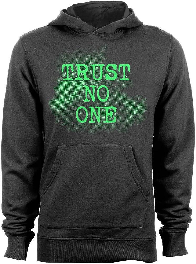 GEEK TEEZ Trust No One Mens Hoodie