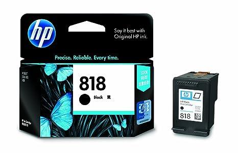 HP 818 Single black Ink Cartridge (Black Colour) Ink Cartridges at amazon