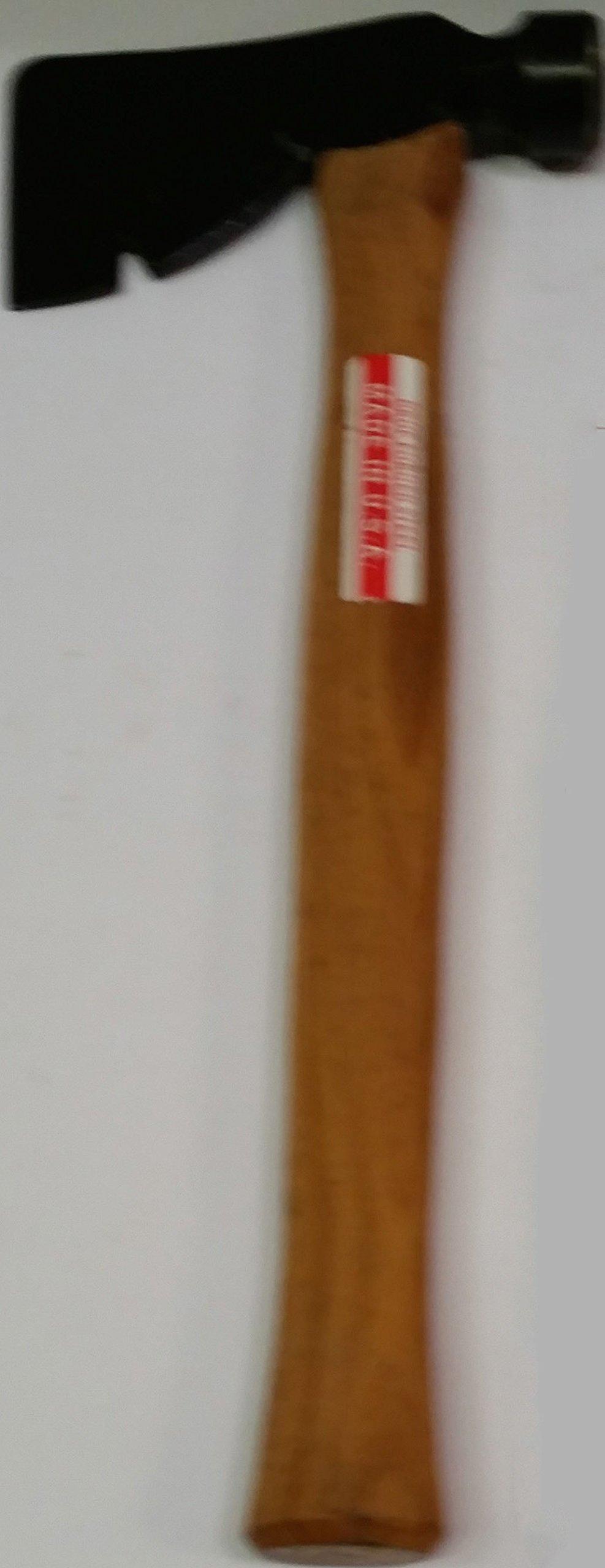 "22 Ounce Carpenter Half Hatch - USA - Hickory Handle 18"" Long"