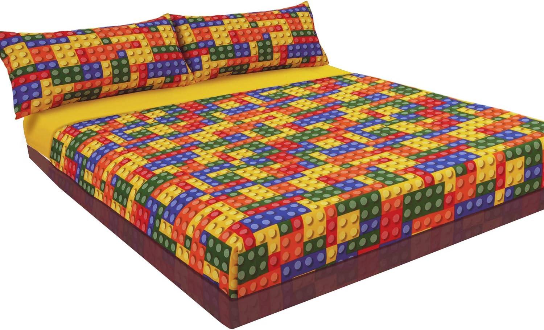 Montse Interiors Juego de sábanas Estampado Colores ...