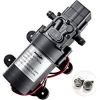 DC 12V High Pressure Water Pump Self-priming Pump Piston Diaphragm Pump for DIY