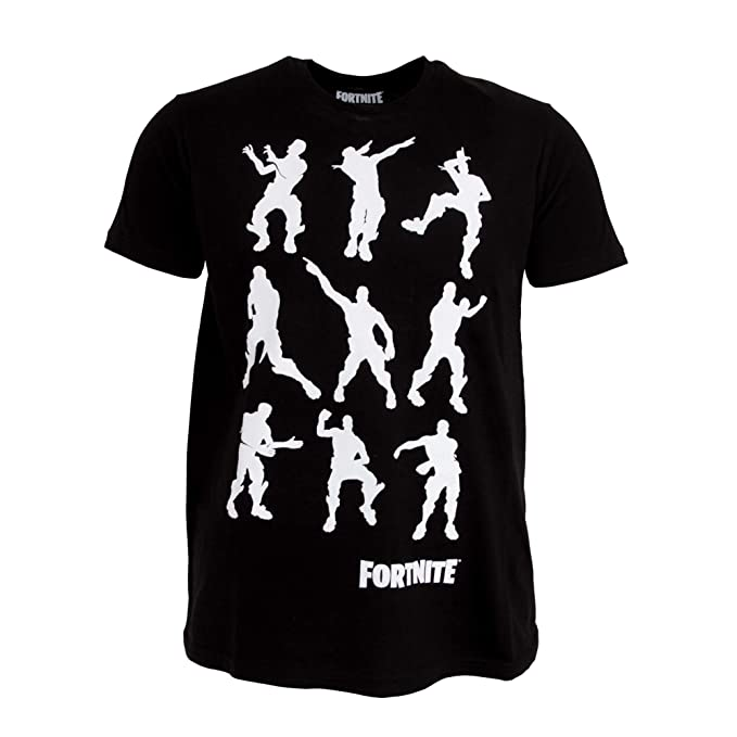 077fa1d0 Fortnite Childrens/Kids Dance Moves T-Shirt: Amazon.co.uk: Clothing