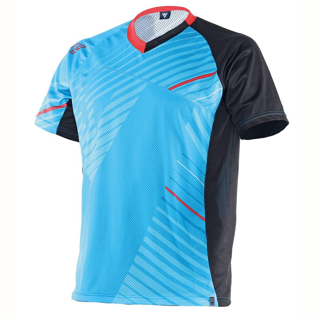 Dainese Erwachsene Shirt Flow Tech Jersey Short Sleeve