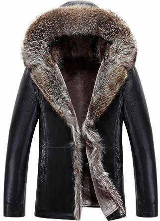 Manteau capuche homme hiver