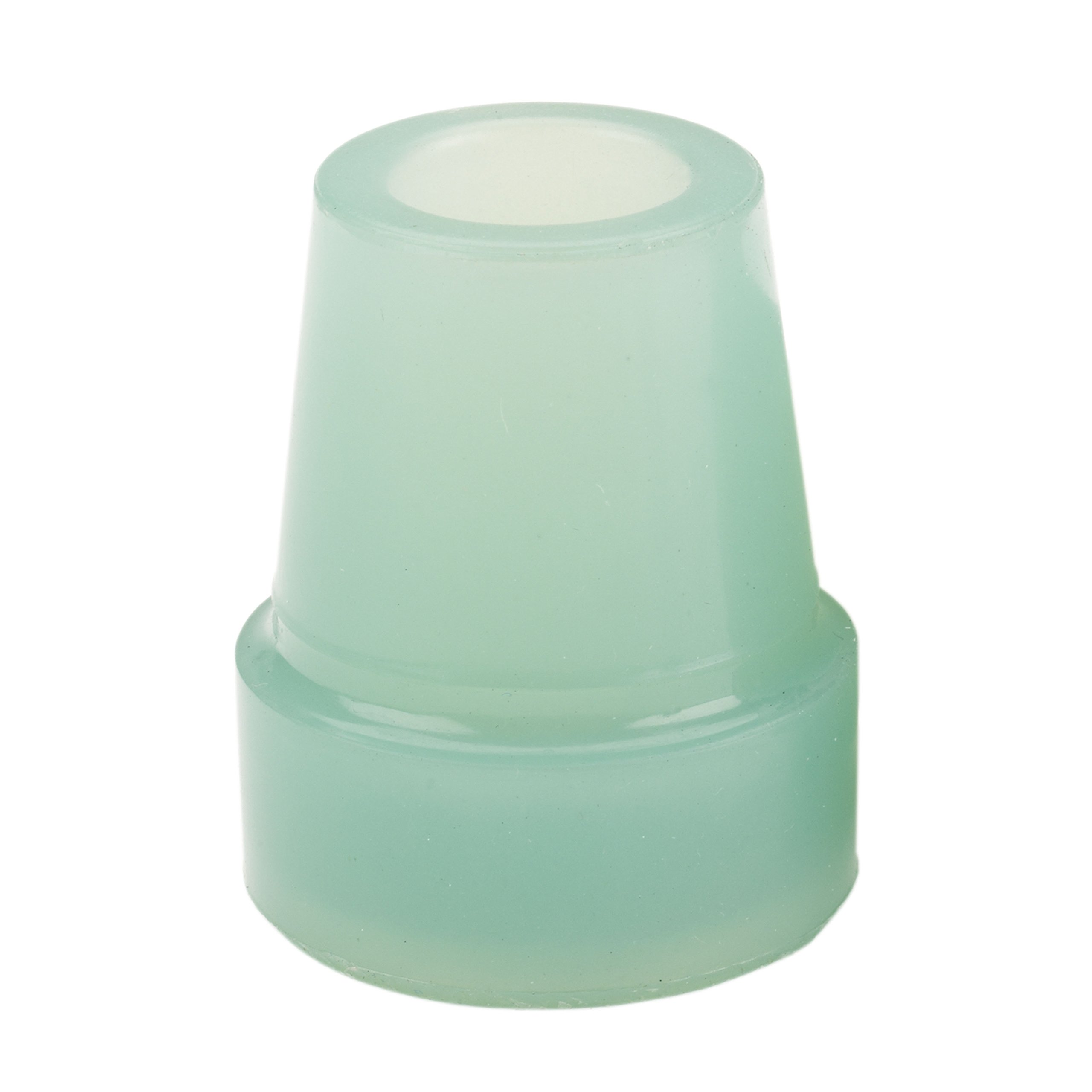 Drive Medical Glow in the Dark Cane Tip, Blue, 3/4 Inch, 2 Count