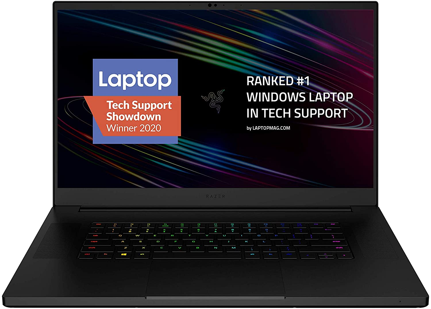 "Razer Blade Pro 17 Gaming Laptop 2020: Intel Core i7-10875H 8-Core, NVIDIA GeForce RTX 2070 Max-Q, 17.3"" FHD 300Hz, 16GB RAM, 512GB SSD, CNC Aluminum, Chroma RGB, Thunderbolt 3, SD Card Reader"