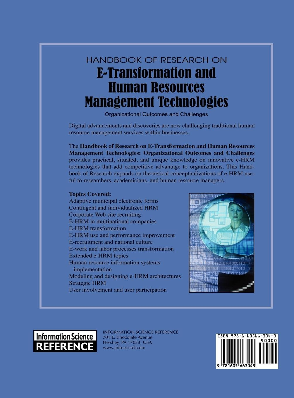 Handbook of Research on E-Transformation and Human Resources Management  Technologies: Organizational Outcomes and Challenges: Amazon.co.uk: Tanya  Bondarouk, ...