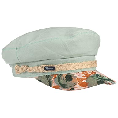 Lipodo Gorra Marinera Flower Peak Mujer - Made in Italy Newsboy de ...