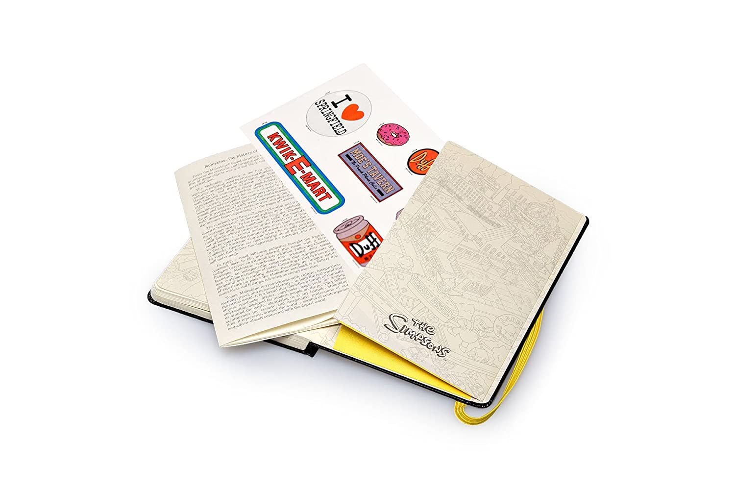 5 x 8.25 Hard Cover Plain//Blank Moleskine Limited Collection Time Notebook Large