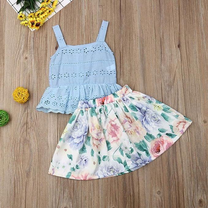 Amazon.com: Juego de 2 faldas maxi de estilo floral ...