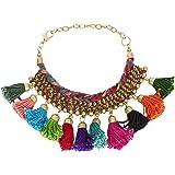 The Indian Handicraft Store Pompom Bracelet Designer Handmade Jewellery