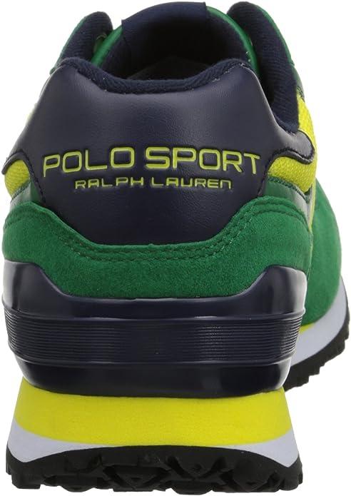 Número Polo Ralph Lauren Slaton Zapatilla de Deporte de Moda ...