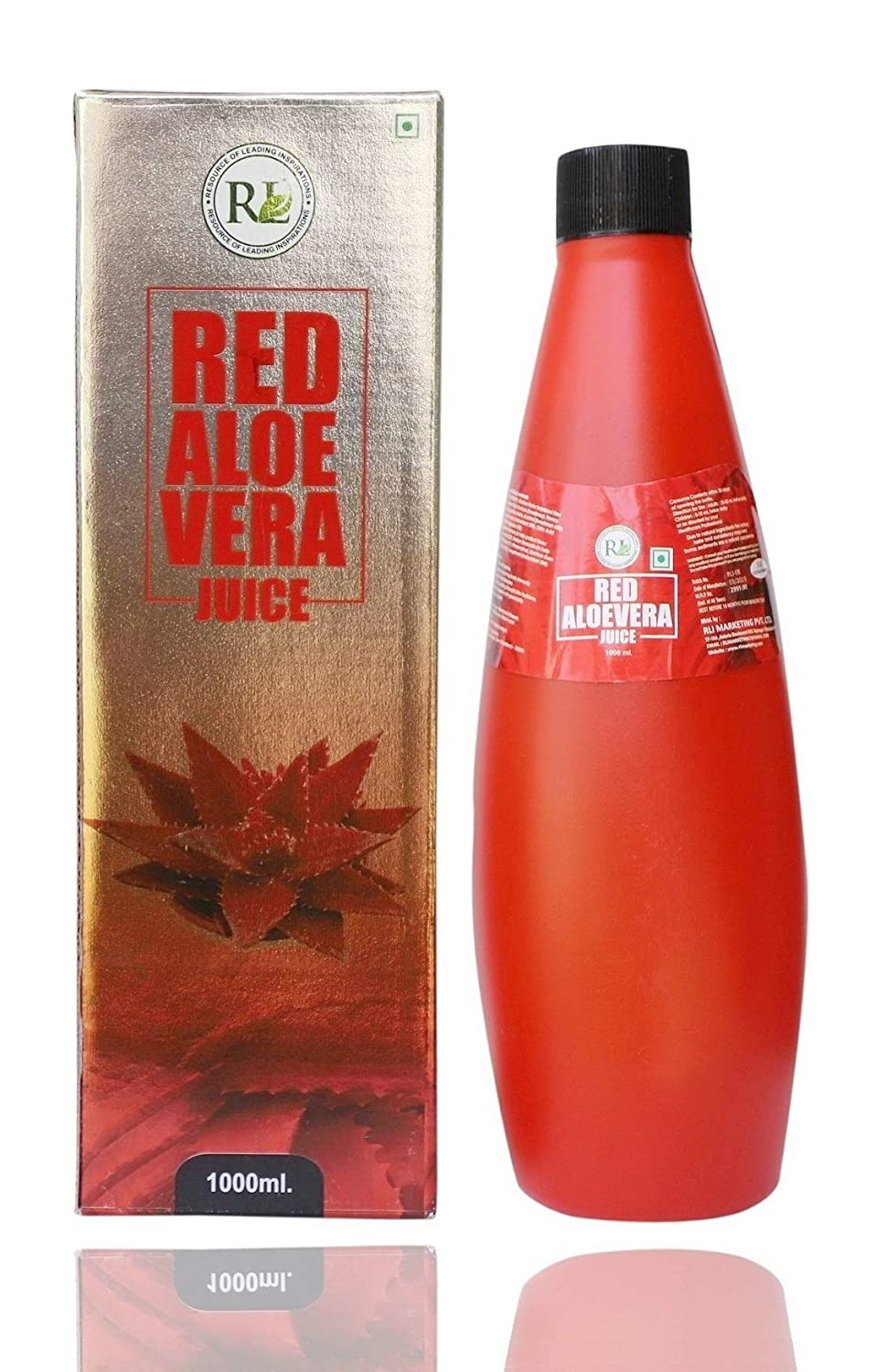 RLI Red Aloe Vera Juice (1 Litre) | 22 Times More Powerful