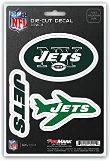 product image for Fanmats unisex-adult NFL New York Jets Team Decal, 3-Pack Green, One Size