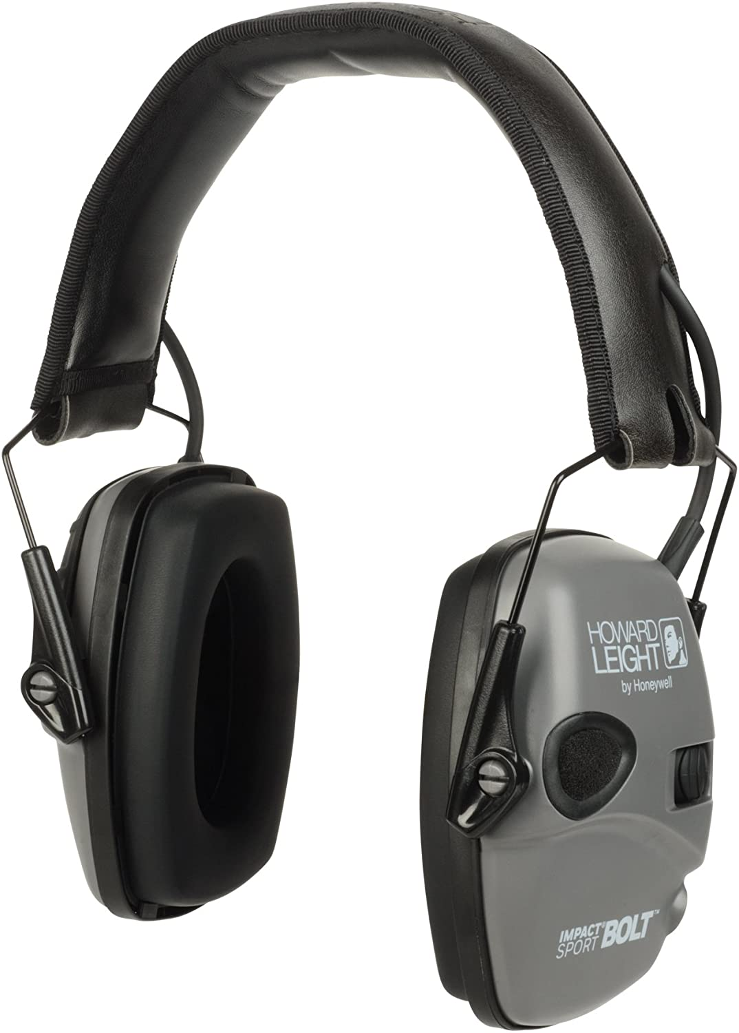 Howard Leight Impact Sport Bolt Digital Electronic Shooting Earmuff, Gray: Home Improvement