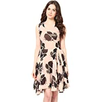 Harpa Women's Silk Skater Dress
