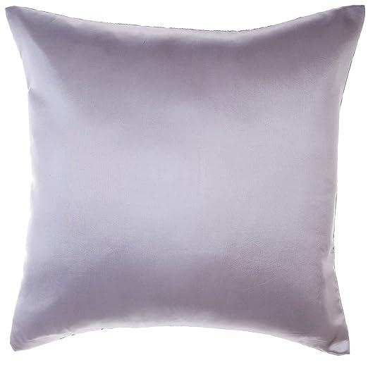 Avarada sólido manta funda de almohada decorativa sofá sofá cojín cubierta con cremallera 24 x 24 pulgadas (60 x 60 cm)
