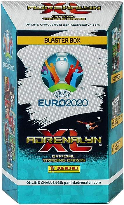 Panini France SA-UEFA EURO 2020 ADRENALYN XL TRADING CARDS-Caja ...