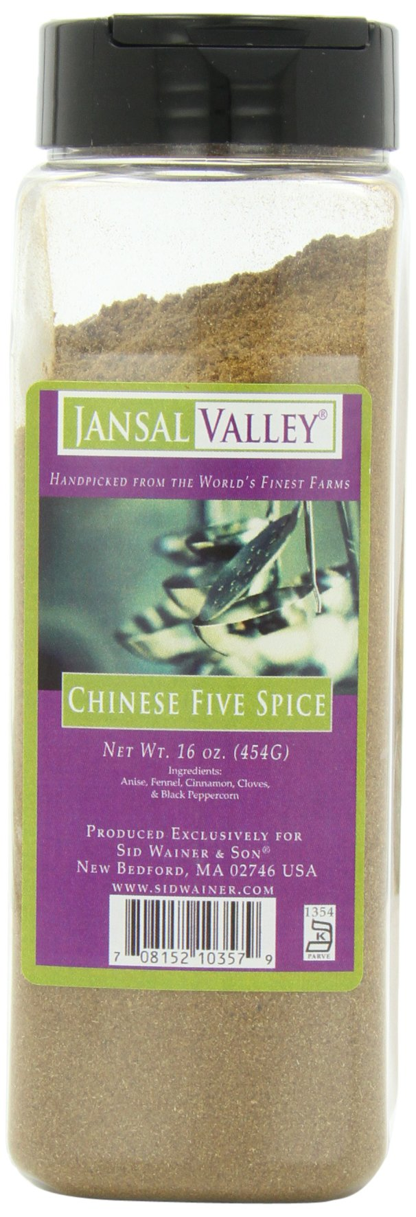 Jansal Valley Chinese Five Spice, 16 Ounce