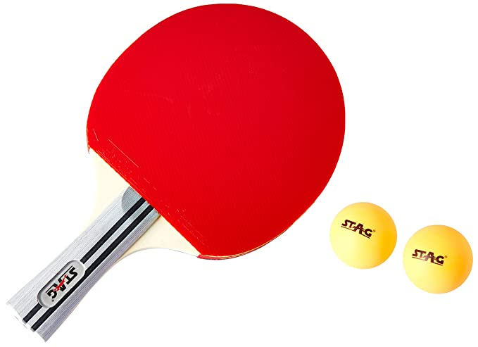 ca80ab8236 Buy Stag International Table Tennis Racquet Without case Online at Low  Prices in India - Amazon.in