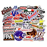 Racing Decal Sticker 26 Piece Assortment Pack in Pairs By Crash Daddy d-26gbp