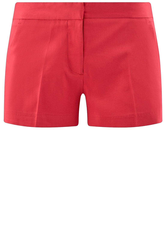 oodji Ultra Damen Baumwoll-Shorts Basic  Amazon.de  Bekleidung fd8cc6d561