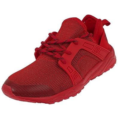Chaussures Kappa San Running Fernando Mode Rouge J3TFK1cul