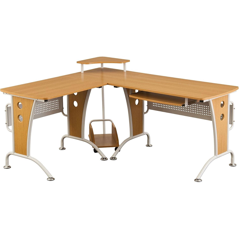 Großer Computerecktisch Ecktisch Schreibtisch Arbeitsplatz Tisch Piranha Piranha Piranha Bureau PC 21o 6d78ca