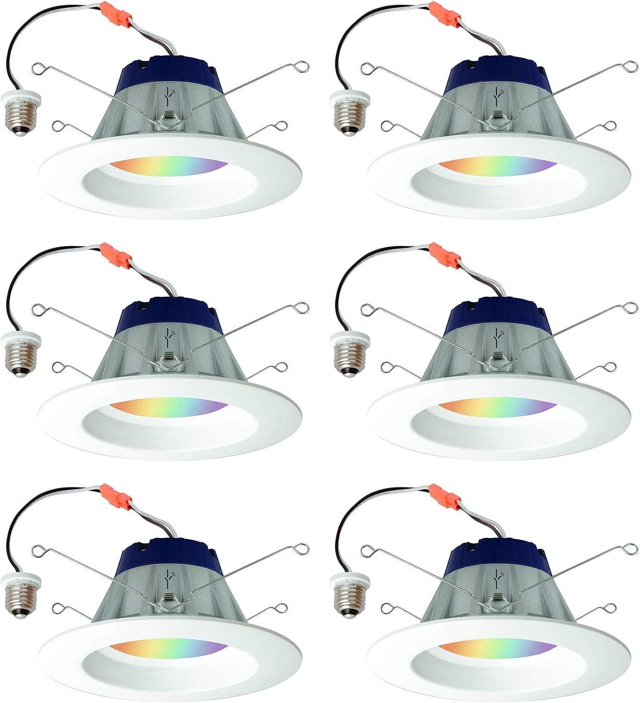 Sylvania Lightify 65W LED Smart Home 2700-6500K Color//White Light Bulb 3 Pack 2 Pack