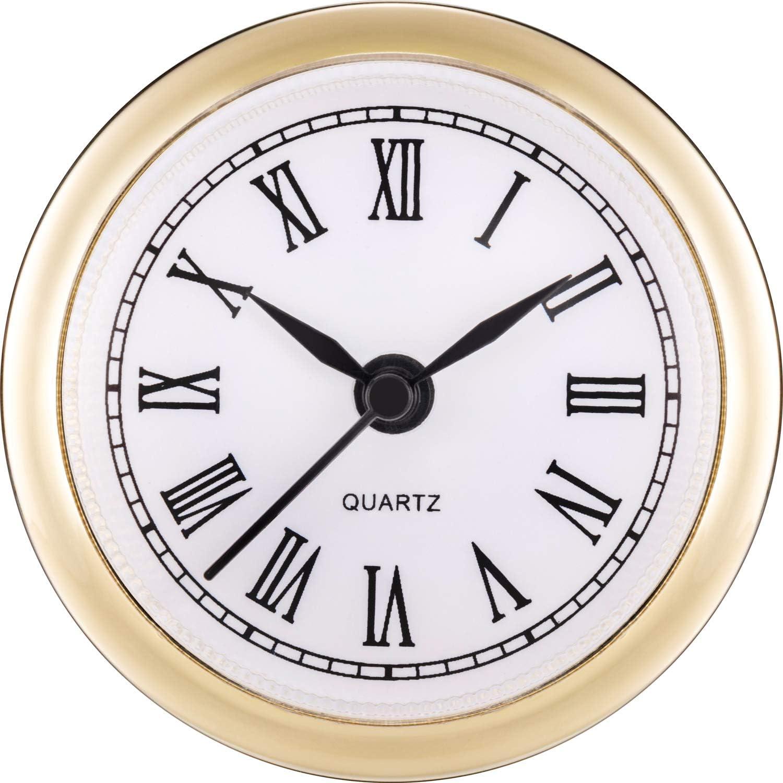 New Quartz Crystal Complete Fit-Up Clock Movement-Free Ship