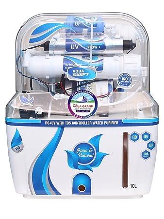 9b7b06bb9 Deal Aquagrand Aqua Swift Ro+Uf+Uv+Mineral+Tds Controller 10 Ltr ...