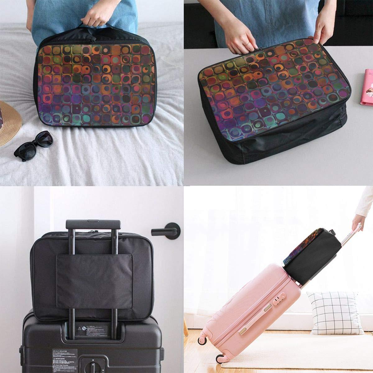 Travel Luggage Duffle Bag Lightweight Portable Handbag Cubes Large Capacity Waterproof Foldable Storage Tote