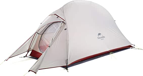 Naturehike Cloud up 1 Person Backpacking Tent Lightweight Camping Hiking Dome Tent for 1 Man