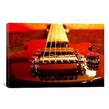 iCanvasART guitarra eléctrica cuadro lienzo pared Art # 32 60 cm x40 ...