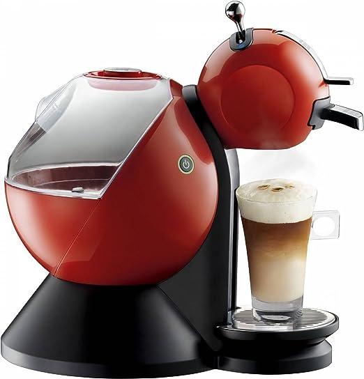 Krups Dolce Gusto Melody 2 KP2106 - Cafetera de cápsulas, 15 bares de presión, color rojo
