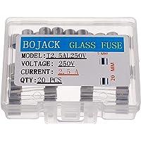 BOJACK T2.5AL250V 5x20mm 2.5A 250V Fusibles de fundición