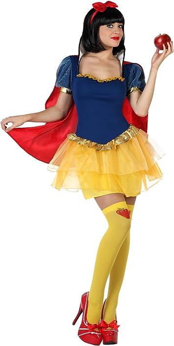 Atosa – 22898 – Disfraz – Disfraz Princesa Nieve – Adulto – Tamaño ...