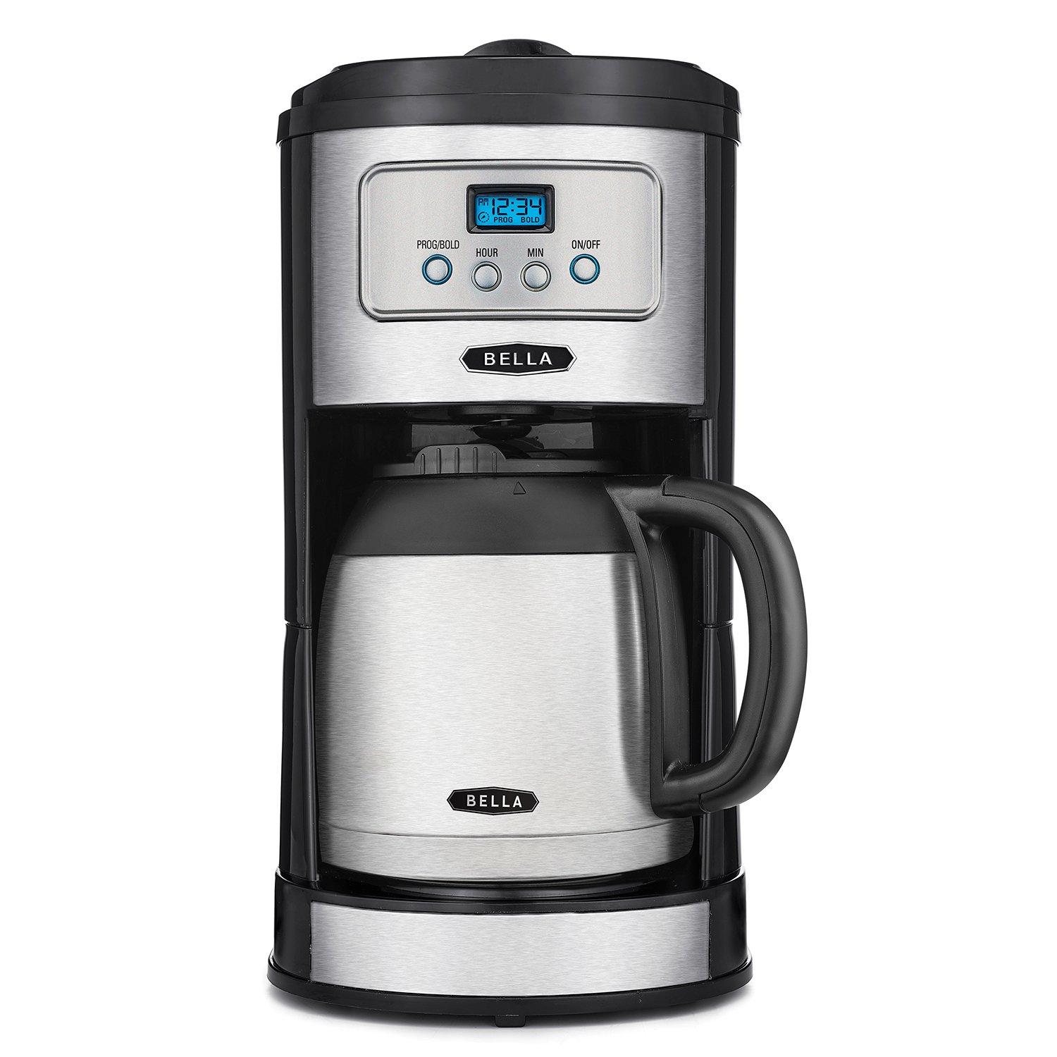 bella coffee maker classics 10 cup thermal carafe programmable coffee 13046