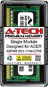 A-Tech 8GB RAM for ACER Aspire ES1-111M-C7DE | DDR3 1600MHz SODIMM PC3-12800 204-Pin Non-ECC Memory Upgrade Module