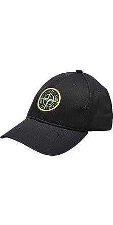10d9a54abc Stone Island - Cappellino da baseball - Uomo Nero nero: Amazon.it ...