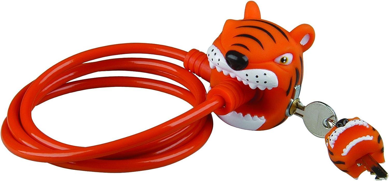 Crazy Stuff C/âble antivol de v/élo pour enfant Design animal