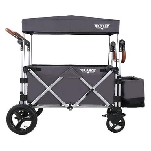 2f559ea49821 Amazon.com   Keenz 7s Stroller Wagon (Grey)   Baby