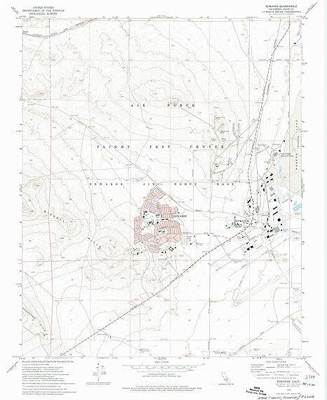 Edwards California Map on