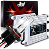 WinPower 35W 9006 HB4 Xenon Headlights Bulb 6000K Cool White Car Conversion kit with AC Slim Ballast