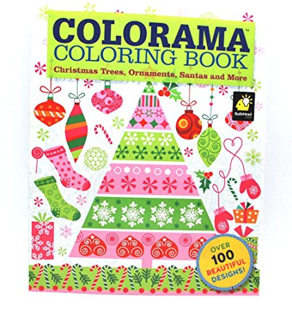 Colorama Coloring Book Christmas