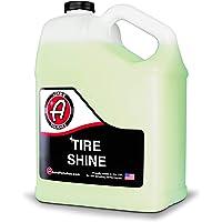 Adam's Tire Shine Gallon - Spray Tire Dressing W/ SiO2 For Non Greasy Car Detailing | Use W/Tire Applicator After Tire…