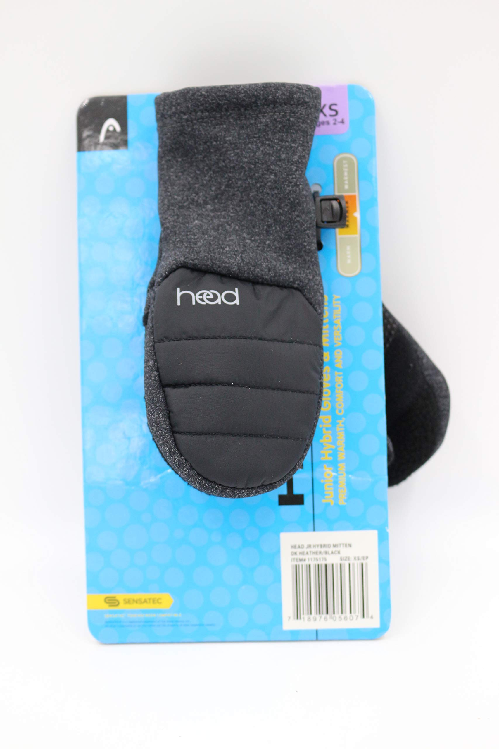 HEAD Junior Hybrid Gloves & Mittens X-Small Ages 2-4