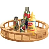 Large Wood Lazy Susan - Serving Trays