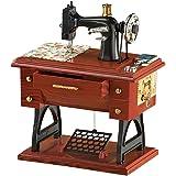 Antique Sewing Machine Music Box